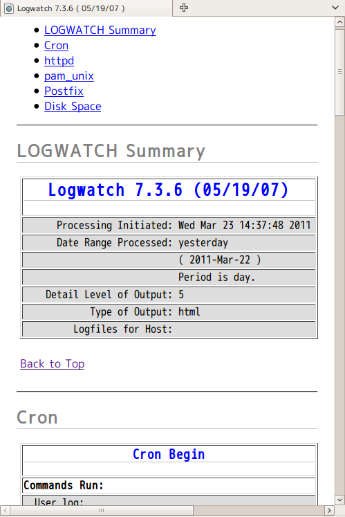 Logwatch