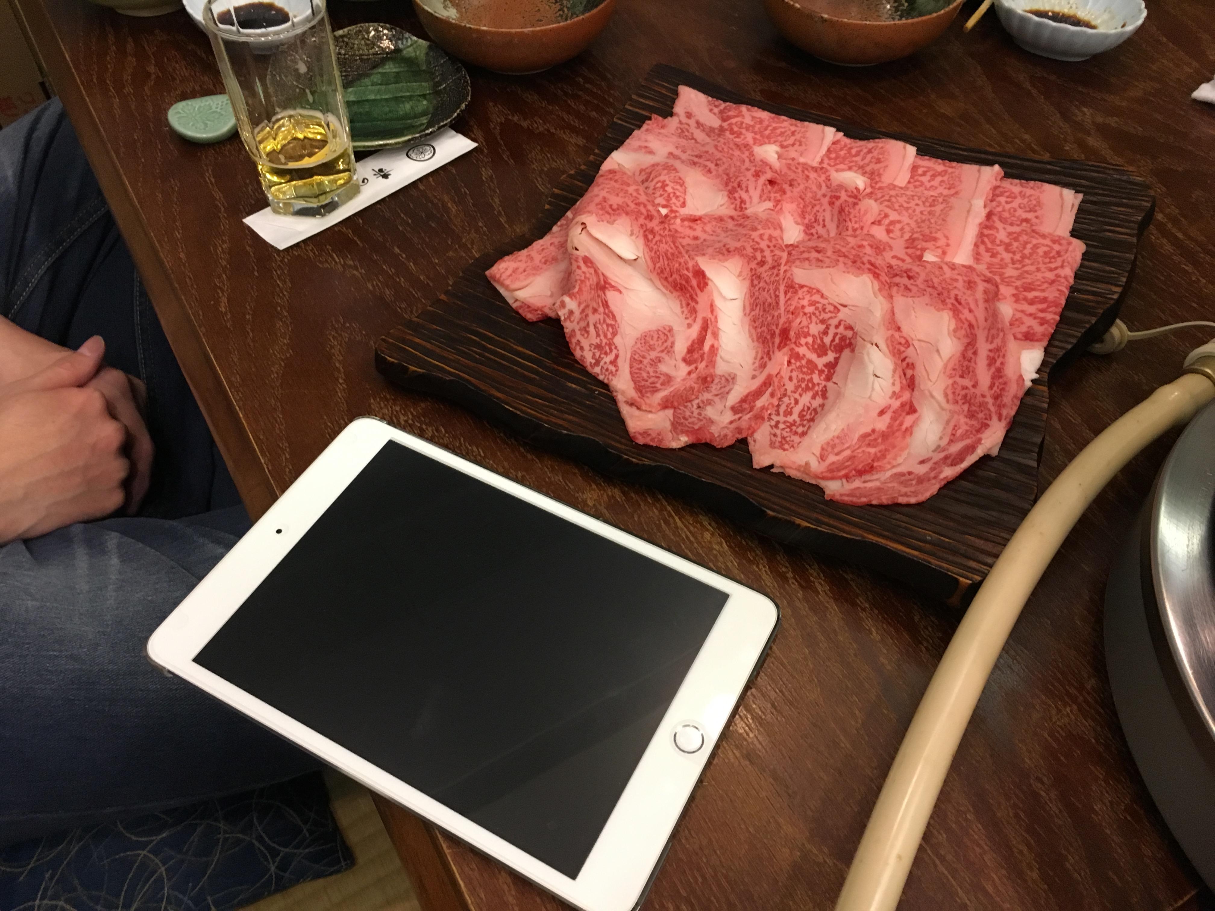 ゲームの途中ですが、お肉が凄すぎます!